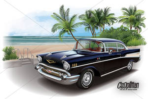 Black Betty - 1957 Chevrolet