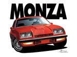 1976 Chevrolet Monza Vector