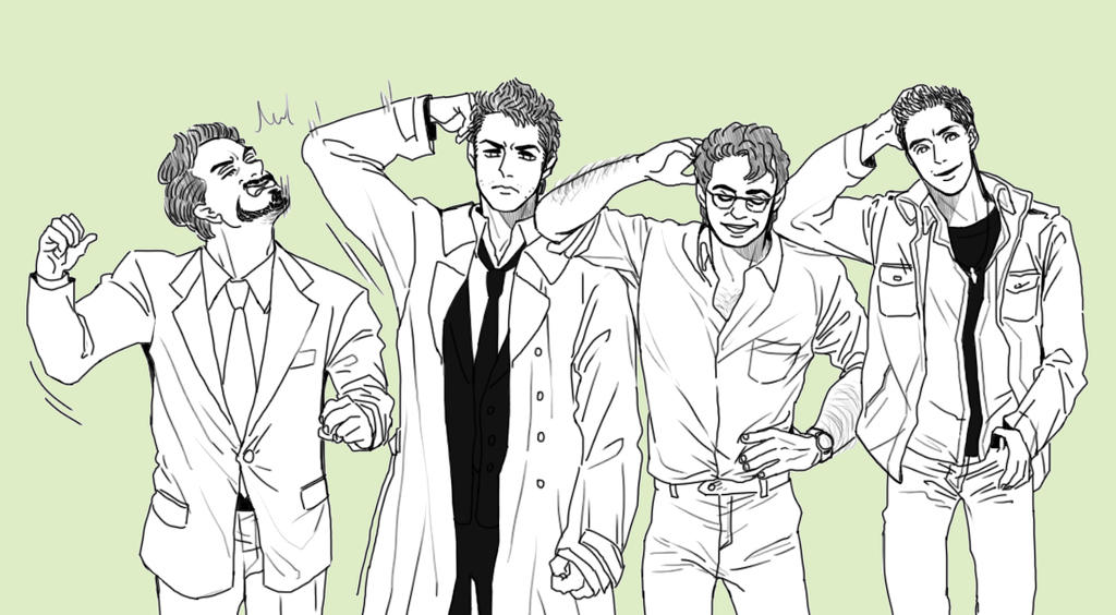 science bros and casdean by ttx6666 on deviantart