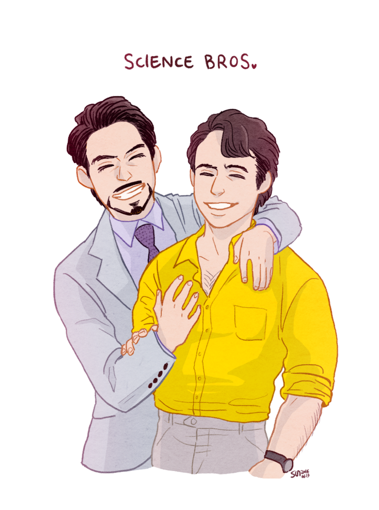 SCIENCE BROS by ttx6666