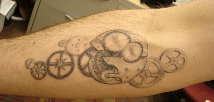 Steampunk Tattoo by reilly63 on deviantART