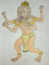 Nrashimha by pfernona