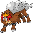 Entei by Madremonte