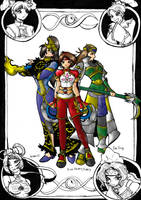 Women of Dynasty Warriors WIP3 by chibigingi