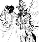 Dynasty Warriors Christmas BW