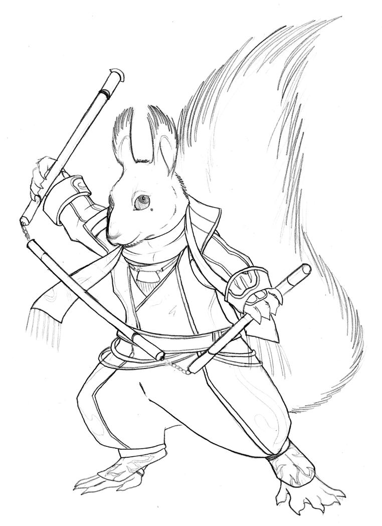 Dw Redwall Ling Tong By Chibigingi On Deviantart Redwall Coloring Pages