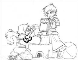 WO- Making a castle by chibigingi