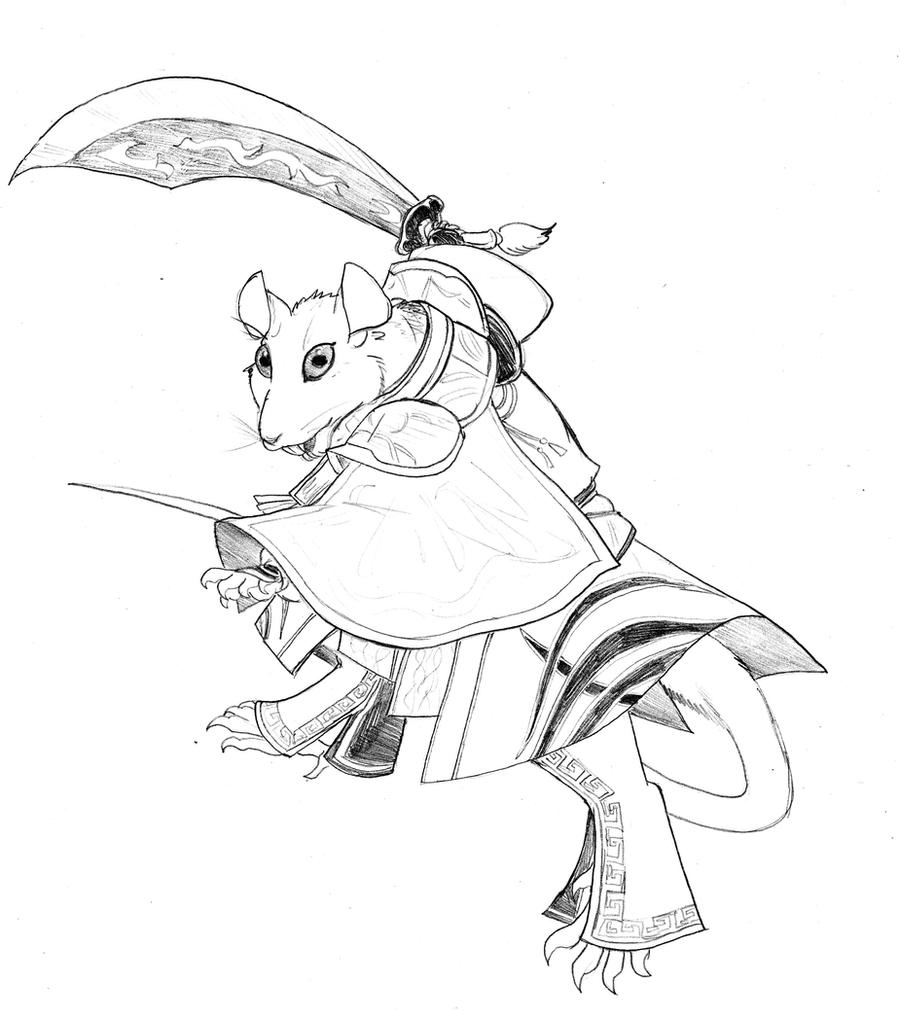 Redwall coloring pages
