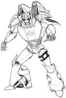 TFP- Autobot Red Alert redux. by chibigingi