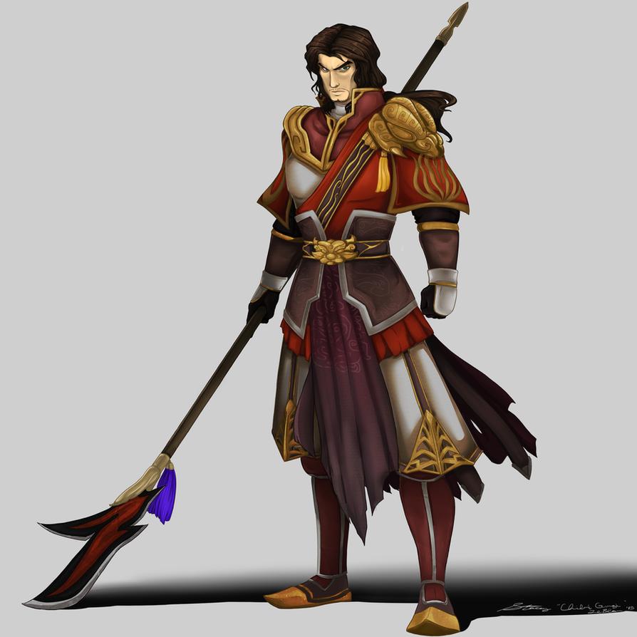 Dynasty Warriors 8 Lu Meng by chibigingi