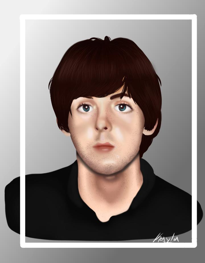 Paul McCartney By Kaylakilledart