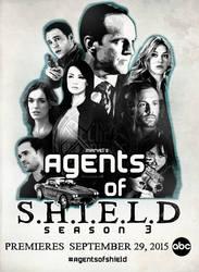 Agents of SHIELD Season 3 Poster by malshania