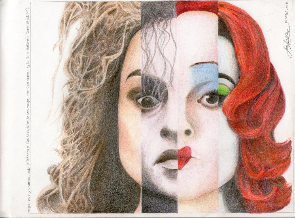 Helena Bonham Carter by samantolik on DeviantArt Dark Alice In ...