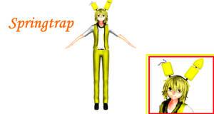 [MMD] FNaF - Springtrap