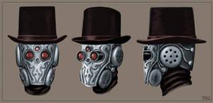 Automaton Assassin - Head Detail Concept