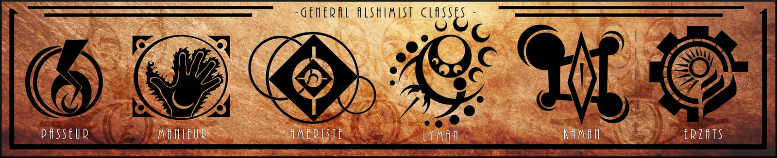 [MC] General Alshimist Classes by Zephirice