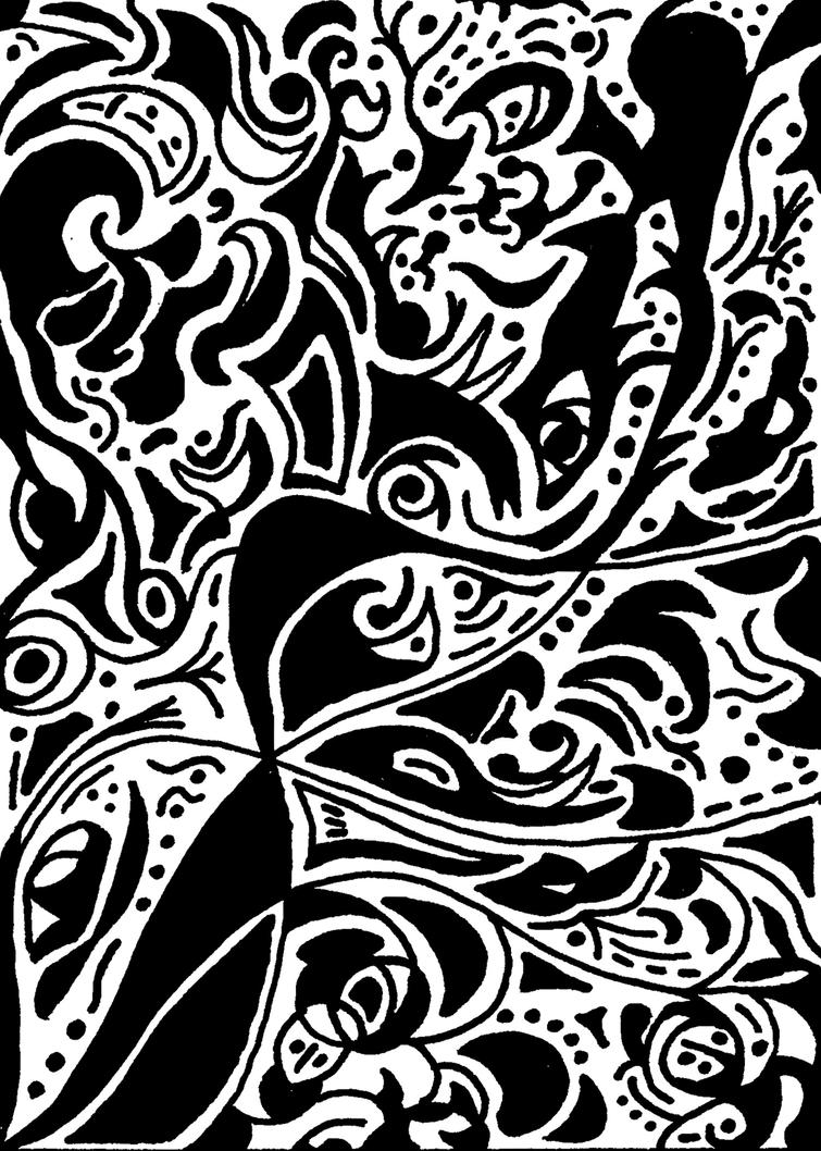 Abstract Line Art : Line art abstract by laurichg on deviantart