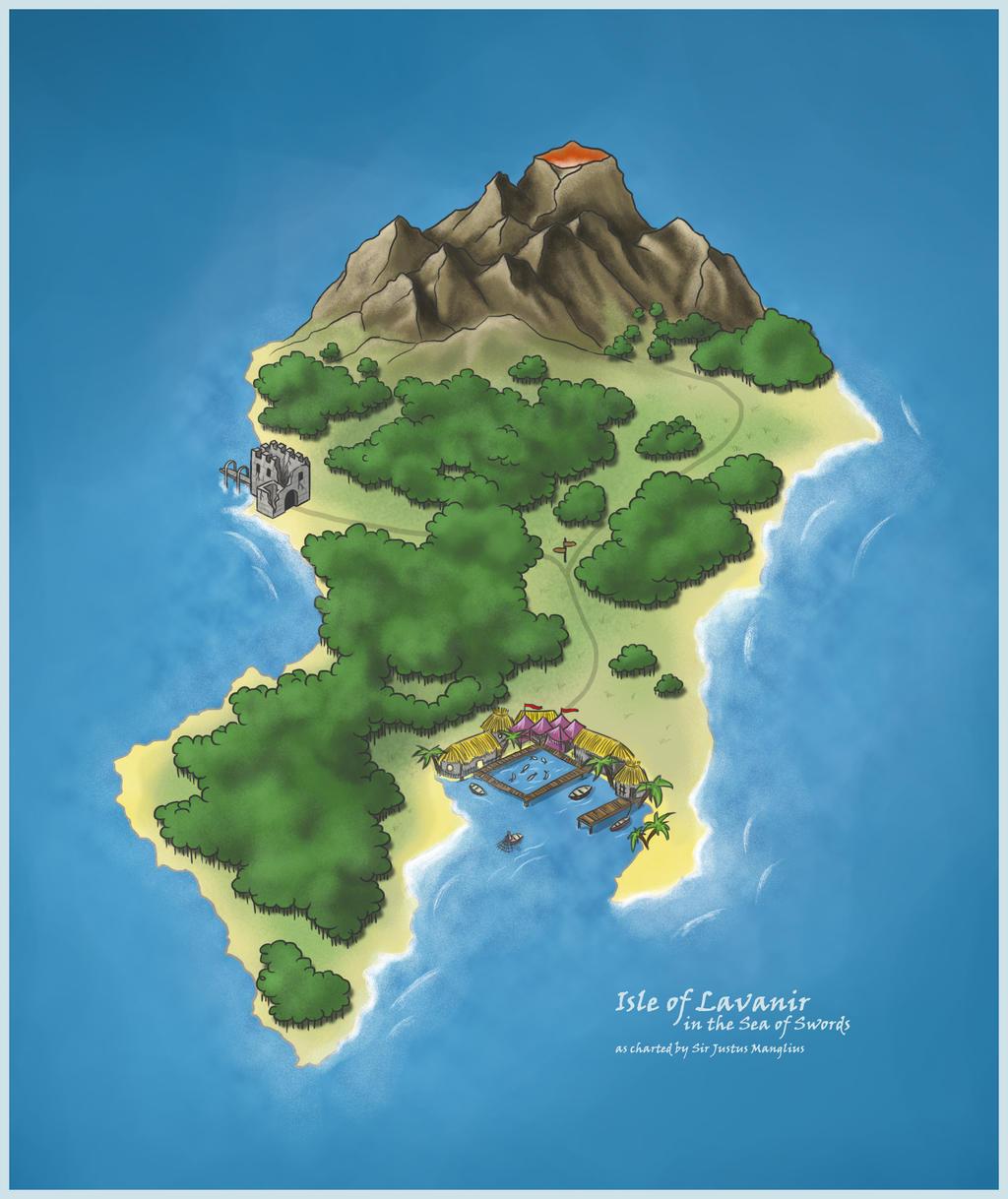 Isle of Lavanir by justMANGO