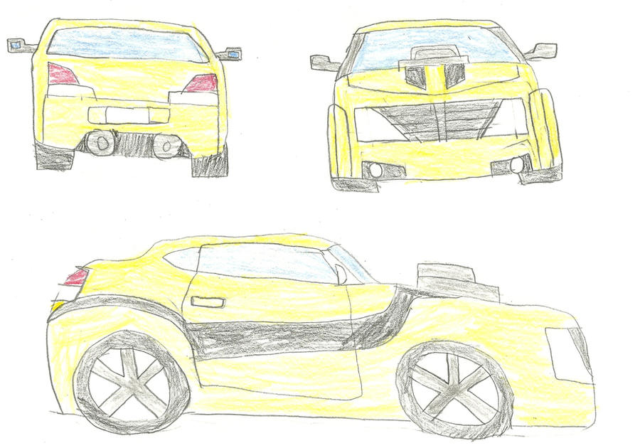 TFP Bumblebee Car Mode by NaruHinaFanatic on DeviantArt