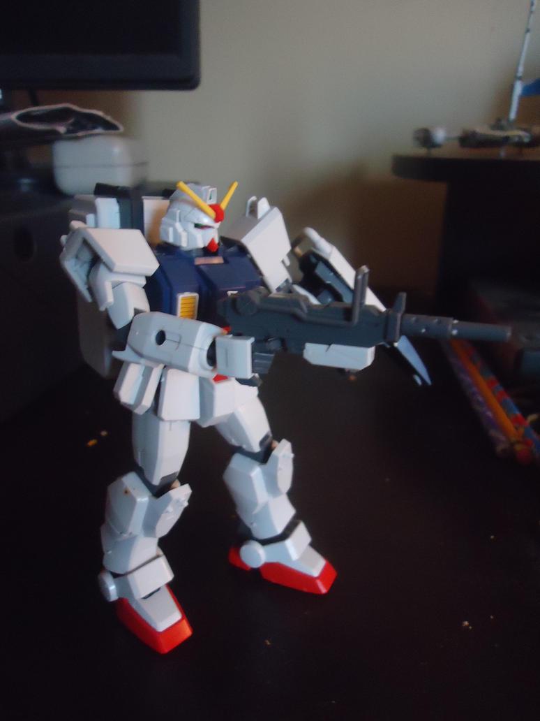 HGUC Gundam Ground Type by NaruHinaFanatic