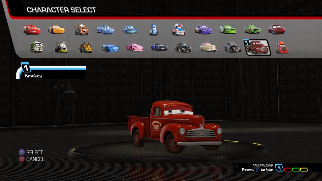 Cars 3  Driven to Win - Smokey by NaruHinaFanatic