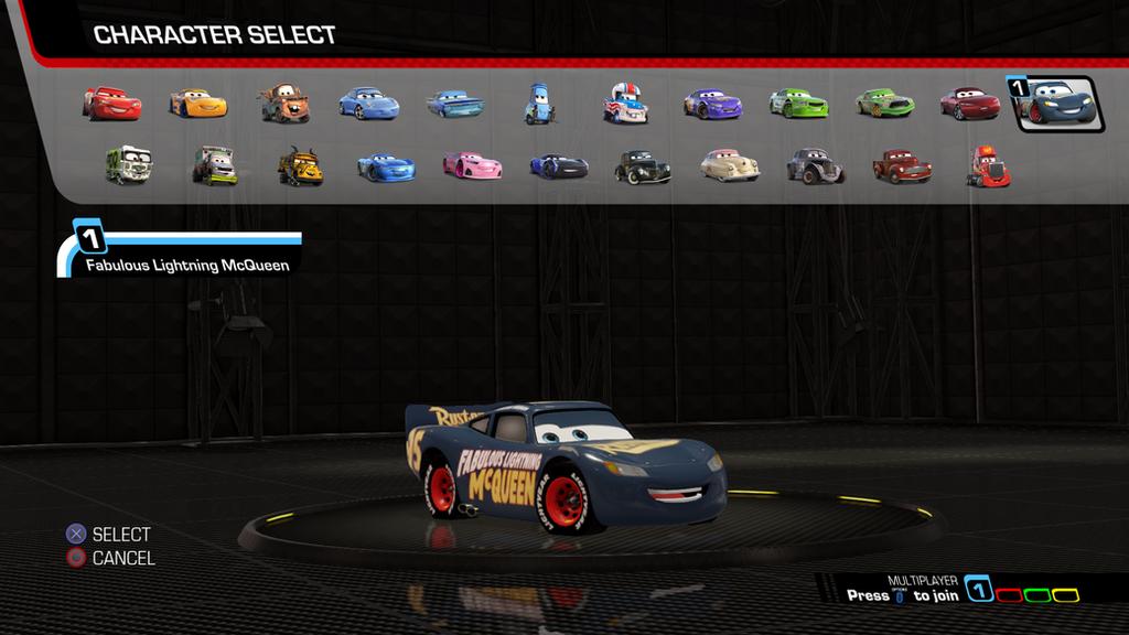 Cars 3 Driven to Win  - Fabulous Lightning McQueen by NaruHinaFanatic
