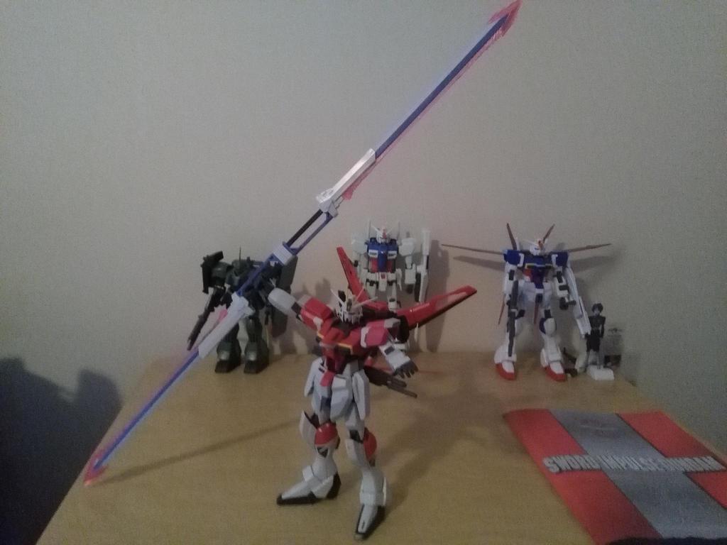 MG Sword Impulse Gundam by NaruHinaFanatic