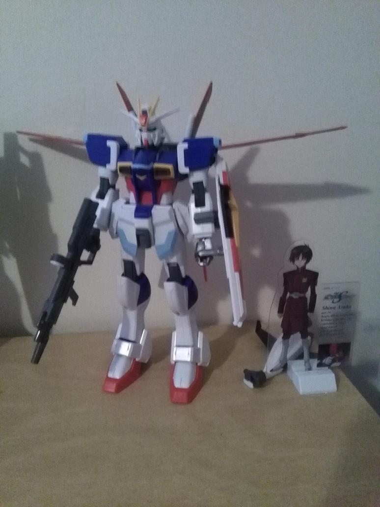 1/100 Force Impulse Gundam by NaruHinaFanatic