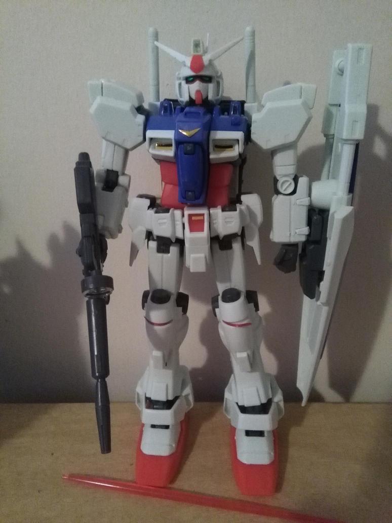 MG Gundam Zephyranthes GP01 by NaruHinaFanatic