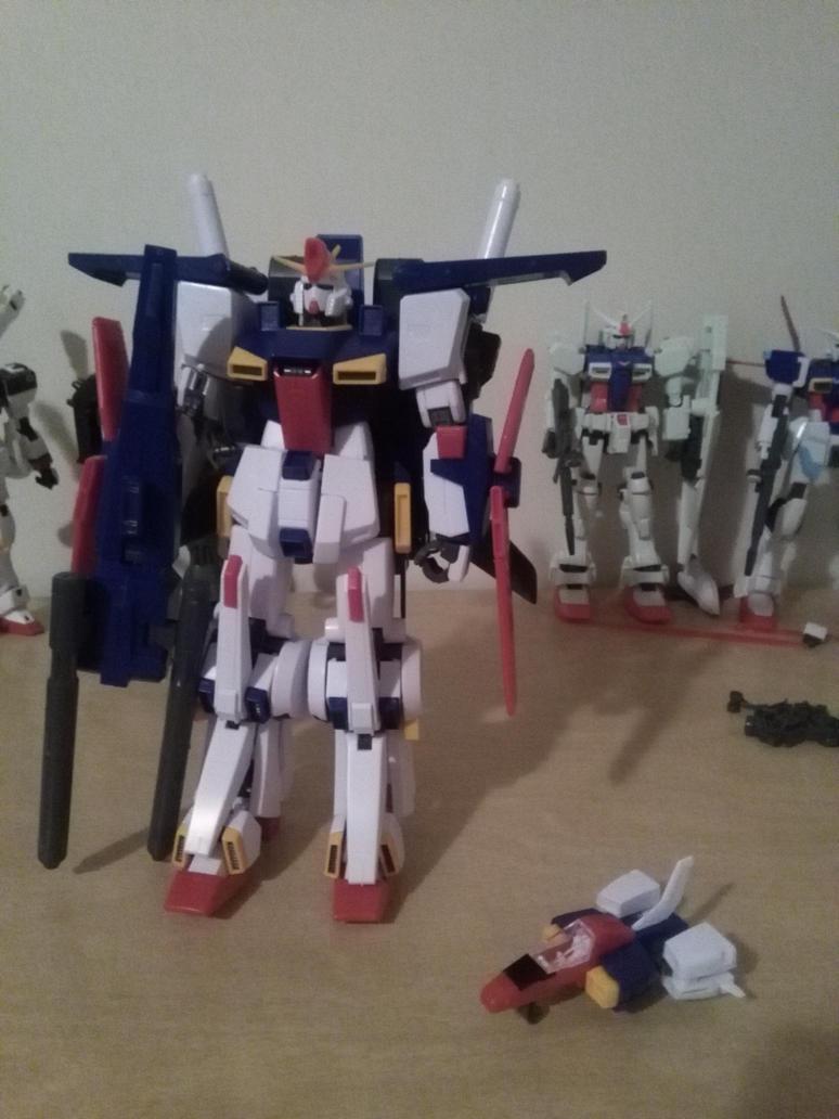 MG ZZ Gundam by NaruHinaFanatic