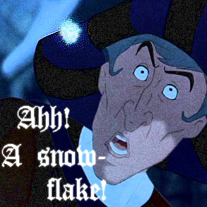 Le Snowflake by sneezingapple