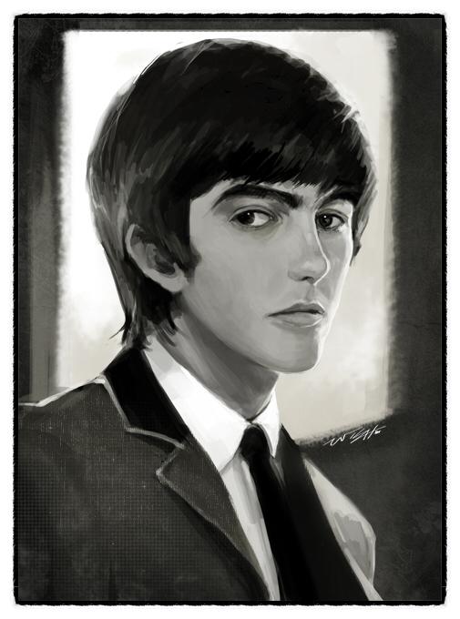 George harrison by wish114