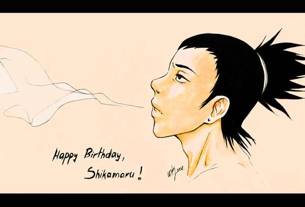 [تصویر:  Happy_bDay_Shikamaru____by_Wik86.jpg]