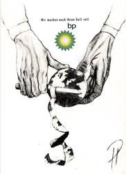 Earth Peel - BP oil, HD 300dpi by pa-he