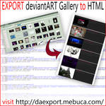 EXPORT da Gallery to HTML