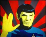 Mr Spock - Star Trek TOS - Pop Art Acryl by pa-he