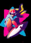 Proto Pop ( w/ Background ) by InkyScribbler