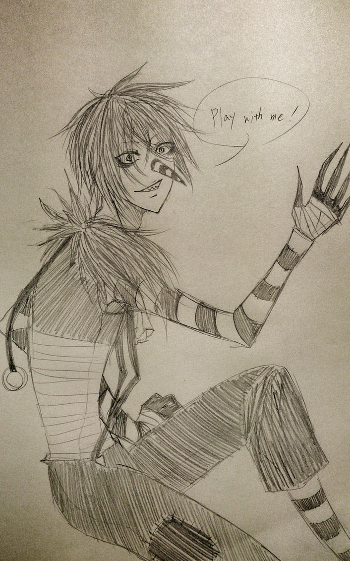 laughing jack by titiry on DeviantArt