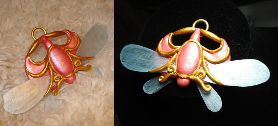 Princess Tutu Pendant by spongekitty