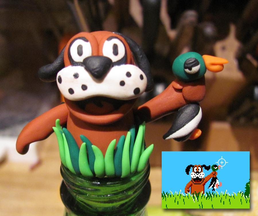 Le roster final de Super Smash Bros. for Wii U / 3DS (Débat/Discussion) - Page 5 Duck_hunt_dog_by_spongekitty-d42fgtz