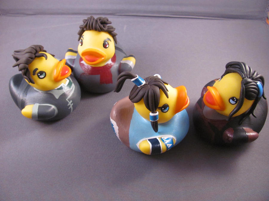 Legend Of Korra Toys : Legend of korra ducks by spongekitty on deviantart