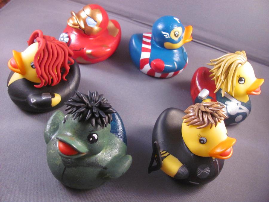 Duckvengers, Assemble! by spongekitty