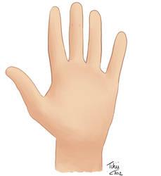 Dessin d une main pour devinette
