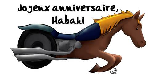 Dessin cheval moto pour anniversaire