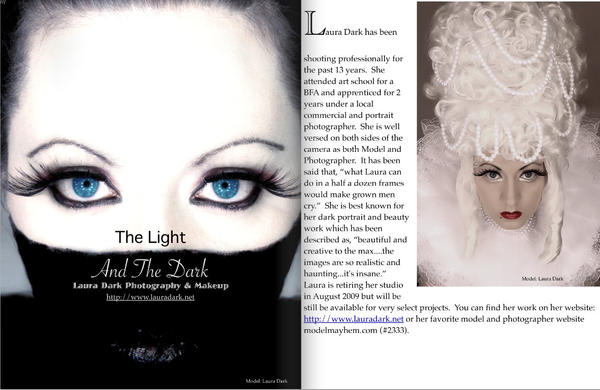 Model Venture Mag Tearsheet by laurna