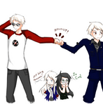 Albino Part 3: Too cool for you by Evelencia
