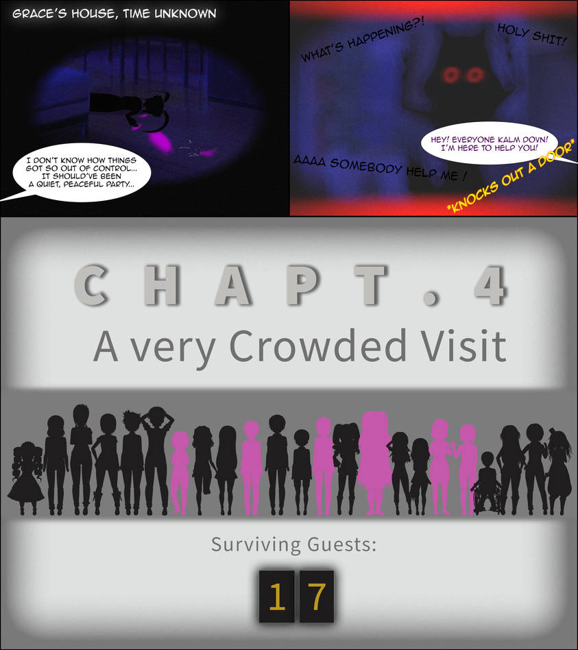 Grace's Party | Part 4 - A very Crowded Visit by GraceFoxey