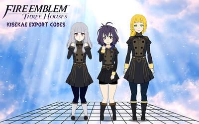[EXPORT] Fire Emblem Three Houses girls