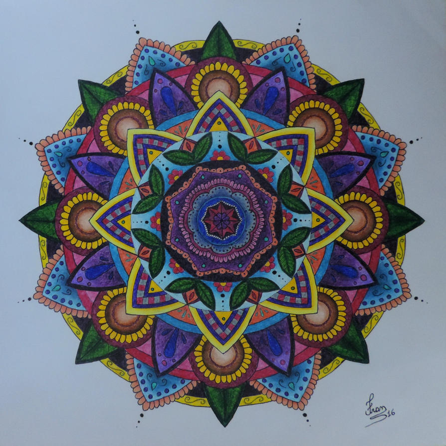 Mandala by fransiguel