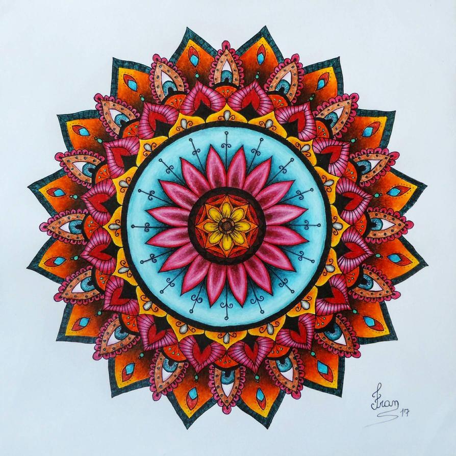 Mandala 2 by fransiguel